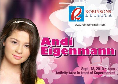 Andi Eigenmann Meet and Greet