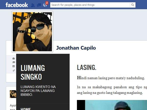 Jonathan Capilo – Creative Pinoy Blogger