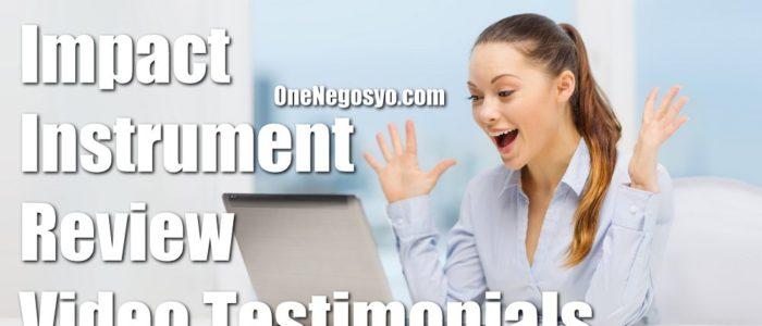 Impact Instrument Reviews – Video Testimonials
