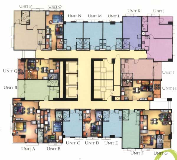Manhattan Garden City floorplan
