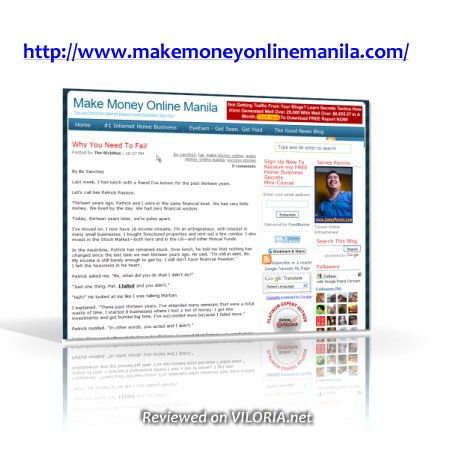 Make Money Online Manila (James Parmis)