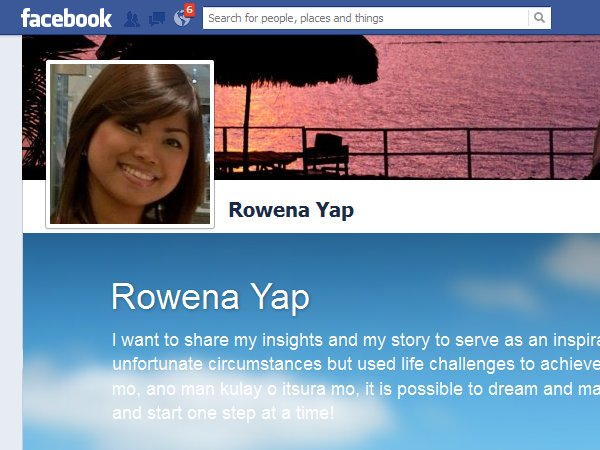Rowena Yap – Author in the Making