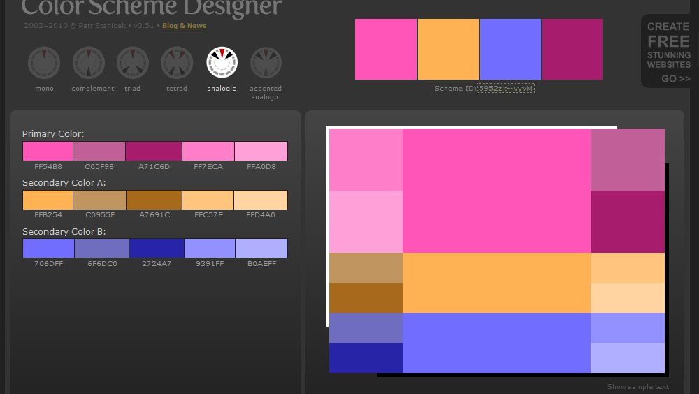 Color and Webdesign