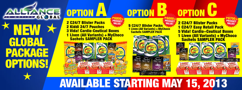 AIM Global New Global Package Options