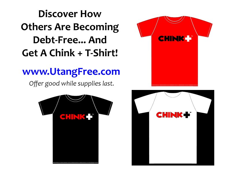 Chinkee Tan Chink Positive T-Shirt