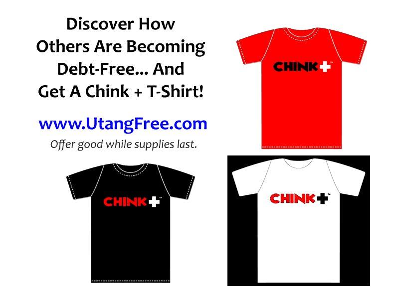 Chinkee Tan Chink Positive T-Shirt