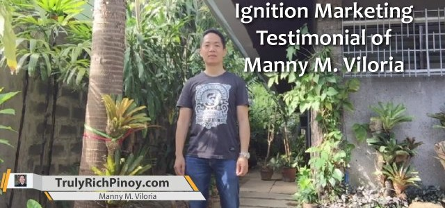 Ignition Marketing Testimonial – Manny Viloria